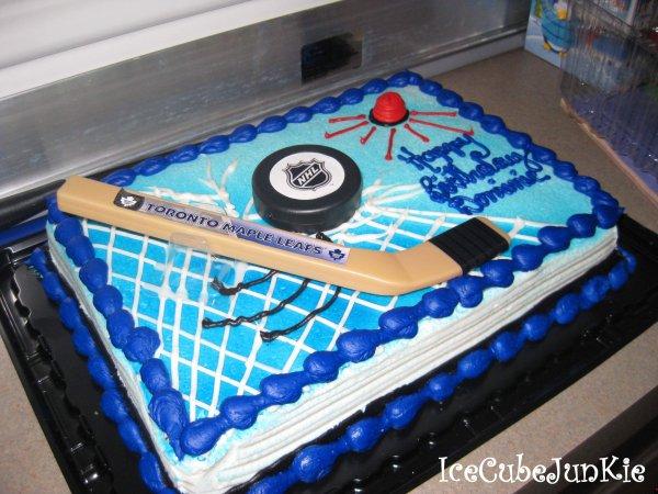Hockey Bday Cakes