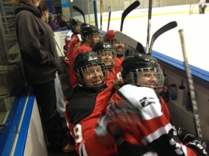 Dev league bench shenanigans. Pic: Brendan Parsons