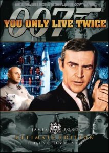You Only Live Twice: Connery as Bond. Hard not to like.