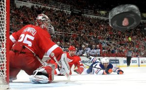 Red Wings v Oilers. Pic: NHL (I think) via Facebook.