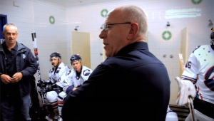 When FoxSports discovered the glory of Australian hockey - a scene from The Ice: Road to 3peat.