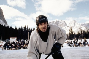 Our Rusty Crowe as a hockey player. How come he threw his weight behind the Rabbitohs in NRL instead of the Sydney Ice Dogs?