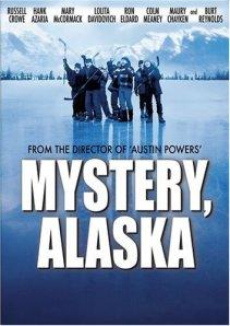 Mystery, Alaska: alternate poster.