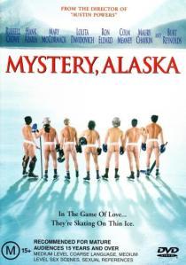 Mystery, Alaska chick-flick attempt poster.