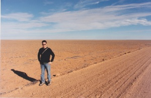 On the road to Oodnadatta. Or on Mars. Who can tell?