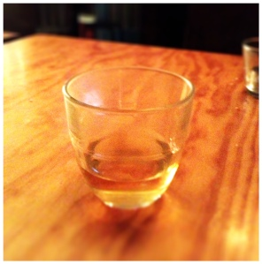 Calvados - the final shot that did all the damage.