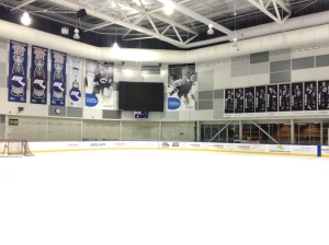 Welcome to your home ice, Mustangs ... (see below)