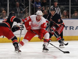 Gustav Nyquist: deserves to be a Red Wing. Absolutely. But will he be?