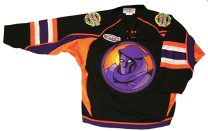 The magnificent Youngstown Phantoms jersey.