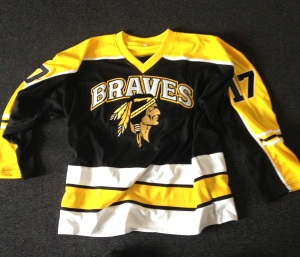 My new world: I'm playing for the Cherokees, part of the Braves, in Div 3 this summer and I frickin' love the jersey. Not just because it's Richmond colours. But that helps. I'm loving life as a Brave.