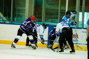 Working hard for the Ceptors, in my beloved Jets purple  (in an IBM practice match) last summer.