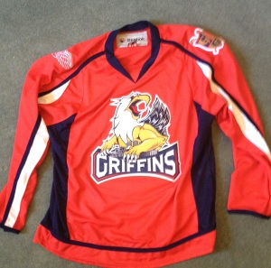 ... and it was, right up until the Griffins produced this more modern red alternate strip.