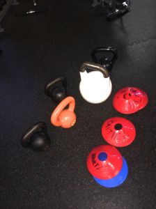 Fluid Health: just a few of the tools of happy torture.