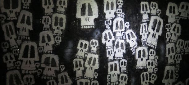 Catacombs art. Picture: Nicko