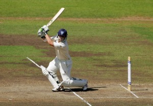 Phillip Hughes as I prefer to remember him. Batting with daring and style.