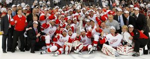 One of my other mobs: The Cup-winning Red Wings that captured my heart.