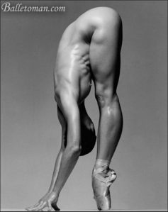 Sylvie Guillem. This, peoples, is elite fitness. Pic: Balletoman.