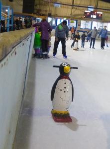 Helpful penguin.