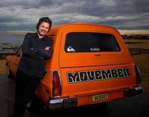 Trav Garone, founder of Movember and a good guy ... Pic: Royal Auto