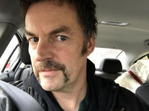 The lucky mo. Deep in Movember.