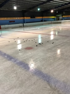 The Oakleigh ice surface. I've never been able to skate as well there as I do at Docklands.